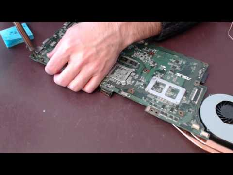 Asus a73s A73 A73S A73SV k73sd laptop dc power jack broken socket input port repair