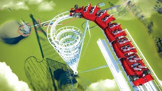 I created two Roller Coasters that would literally destroy you in Planet Coaster