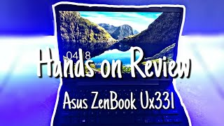 Asus ZenBook Ux331 || Hands on Review || TechDivya