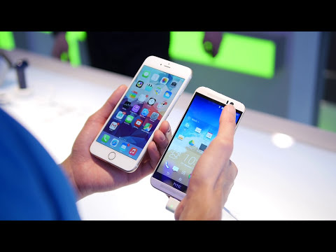 HTC One M9 versus Apple iPhone 6 Plus: first look