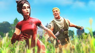 my RANDOM DUO carried me in Fortnite...