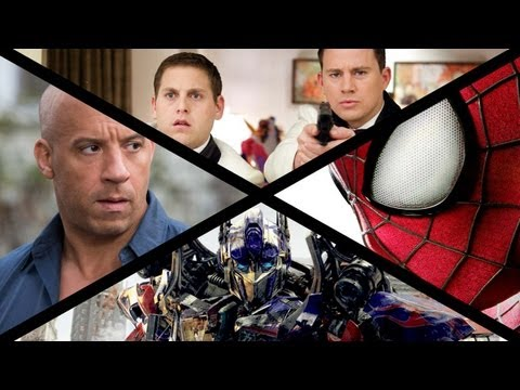 2014 Summer Movie Preview: Transformers, Godzilla, Spider-Man & More!