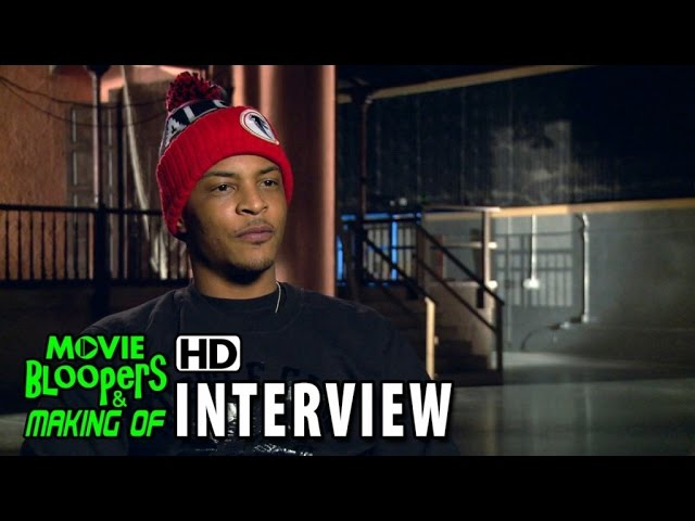 Ant-Man (2015) Behind the Scenes Movie Interview - Tip T.I. Harris is 'Dave'