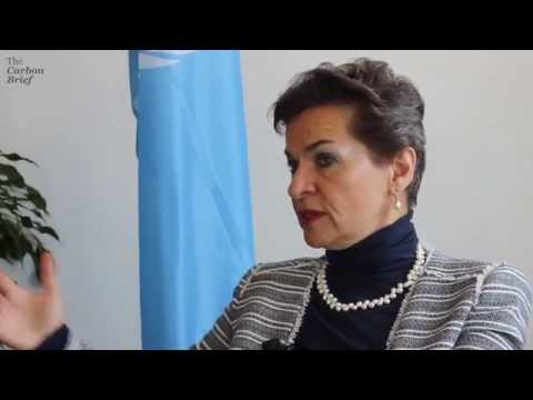 Christiana Figueres on the concept of carbon budgets