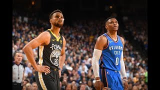Stephen Curry vs. Russell Westbrook Showdown | Highlight Mix