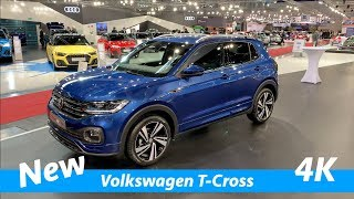 Volkswagen T-Cross 2019 R Line - FIRST quick look in 4K