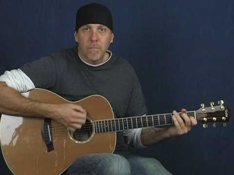 Acoustic 12 bar blues beginner guitar lesson learn to play easy and fun Music Videos