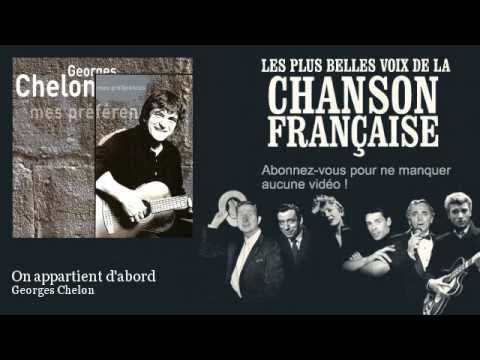 Georges Chelon - On appartient d'abord