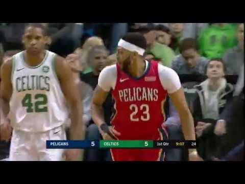 Anthony Davis Finishes with 45 Points, 16 Rebounds in Pelicans' OT Win over Celtics