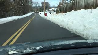 Snow in Johnson City, Tennessee