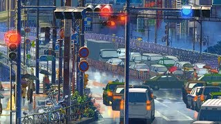 Download Song Rainy Days In Tokyo [Lofi Hip Hop / Jazzhop / Chillhop Mix] - Beats to chill/study/relax Free StafaMp3