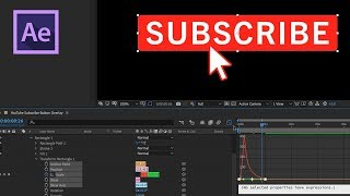 How to Create a YouTube Subscribe Button in Adobe After Effects