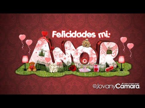 Tutorial Photoshop: Efecto Texto 3D de Amor.