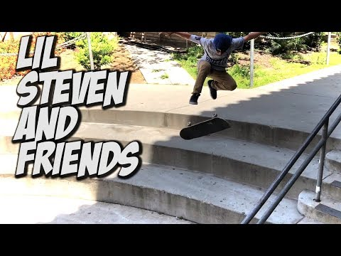 LIL KID STEVEN VASQUEZ AND FRIENDS STREET SKATING AND MORE !!! - NKA VIDS -