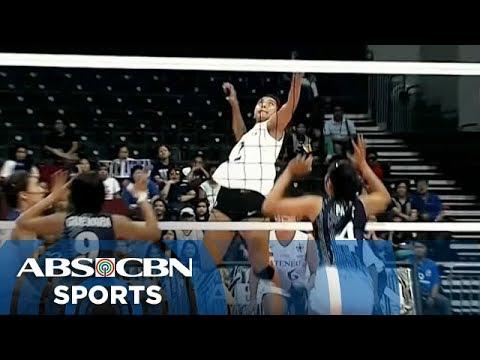 UAAP 77 Women's Volleyball: ADMU vs AdU Game Highlights