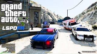 GTA 5 LSPDFR EPiSODE 119 - LET'S BE COPS - FBI/ FIB PATROL (GTA 5 PC POLICE MODS) CHARGER HG2
