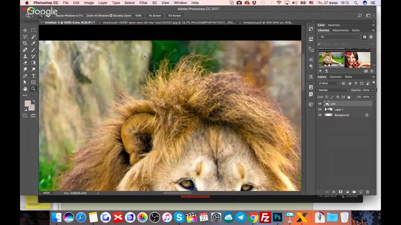 сделать в интернете фотошоп с фотографии