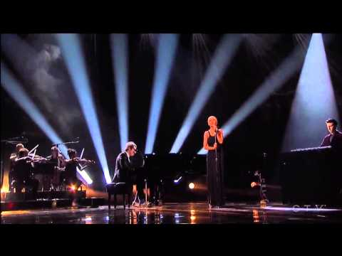 Christina Aguilera & A Great Big World Say Something Live AMA 2013