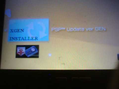 Flash Install Custom Firmware 5.50 GEN B2 PSP