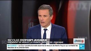 Nicolas Dupont-Aignan invité de RTL