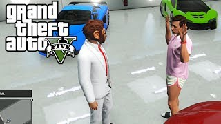 GTA 5 Online Squeaker Squad 7 - Blood Money