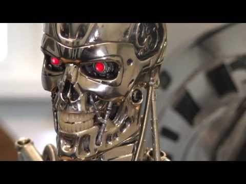 Hot Toys 1/4 Endoskeleton Terminator  figure review