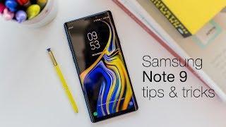 Samsung Galaxy Note 9 tips & tricks