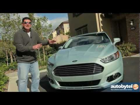 2013 Ford Fusion Hybrid Test Drive & Car Video Review