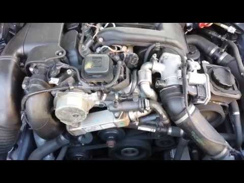 Bmw 520d M47 Faulty Crankshaft Pulley Sound Youtube