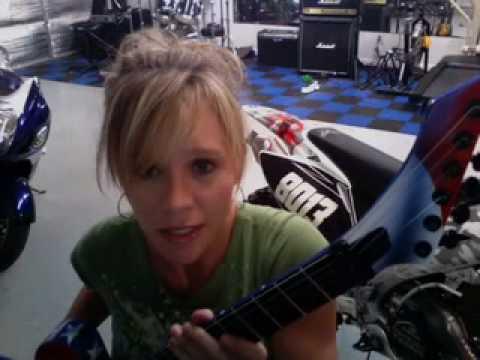 Heather Williams Floyd Upgrades EVH D-Tuna