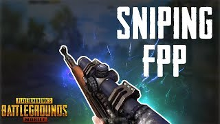 PUBG Mobile - Sniping Arcade Mode in First Person! [1080p HD]