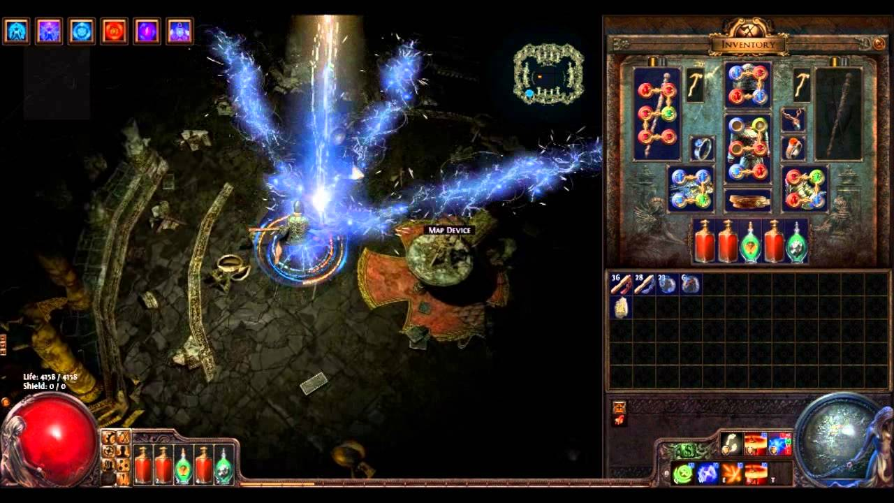 Poe Lightning Strike Build Templar