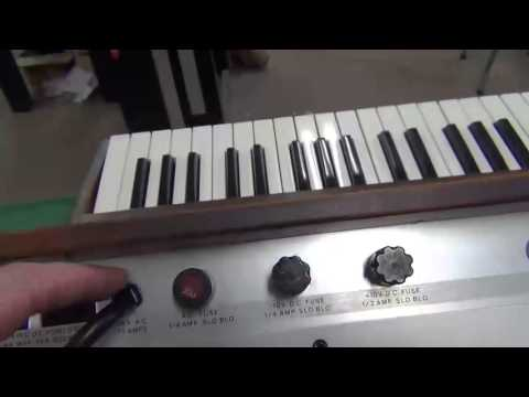 1973 Minimoog Overview Part 2: Showing Fixed...