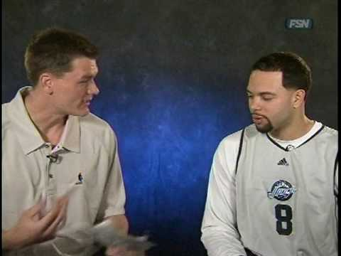 Deron Williams interviewed by Matt Harpring Video