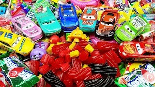 LEARN COLORS with A lot of New Candy & A lot of Cars