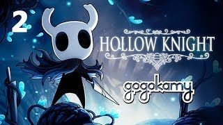 Exploring the Crossroads and Hooray Stag Stations [Hollow Knight #02] | gogokamy