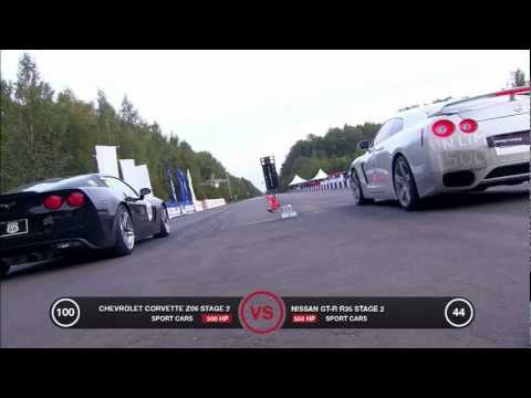 Chevrolet Corvette Z06 vs Nissan GT-R Music Videos