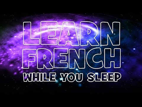 Learn French while you sleep #Unit 1