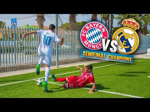 BAYERN VS REAL MADRID ¡SEMIFINAL de CHAMPIONS! Partido Fútbol thumbnail