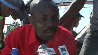 VIDEO: Moise Jean-charles Pale de Manifestation 29 Nov 2013 la