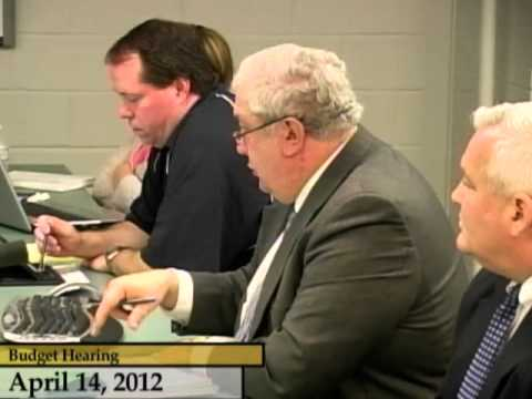 Enfield, CT, USA - Budget Hearings FY12-13 - April 14, 2012 - Part 2