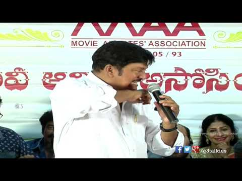 Rajendra Prasad Back To Back Punches To Hema @ MAA Executive Body swearing in ceremony 2015 - MAA