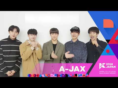 『KCON 2018 JAPAN』Message From A-JAX