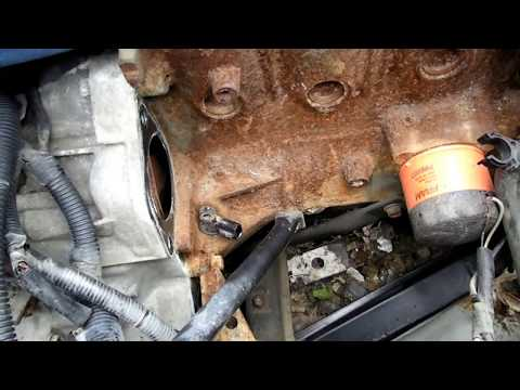 Crankshaft Position Sensor Removal