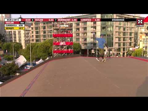 X Games 17: Adam Taylor takes Silver in Skateboard Big Air