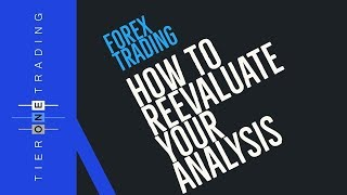 TRADING LESSON - How To Reevaluate Your Analysis