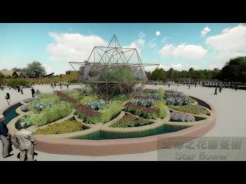 3D simulation of the Waipu Park