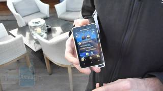 Sony Ericsson Xperia active Demonstration