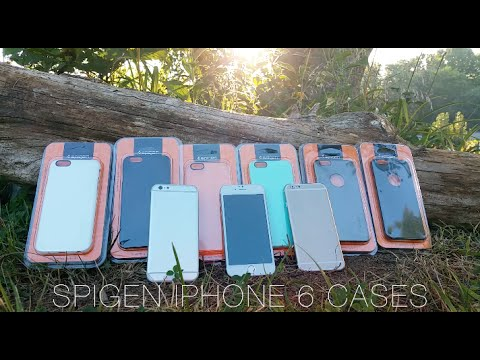 Spigen Apple iPhone 6 Cases: Early Hands-On (Shot with the Galaxy S5)