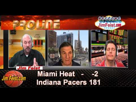 2014 NBA Playoffs Miami Heat vs. Indiana Pacers Sports Betting Preview, May 18, 2014